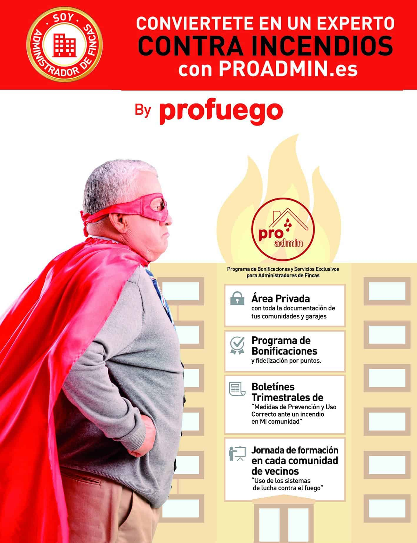 Proadmin mantenimiento extintores comunidades