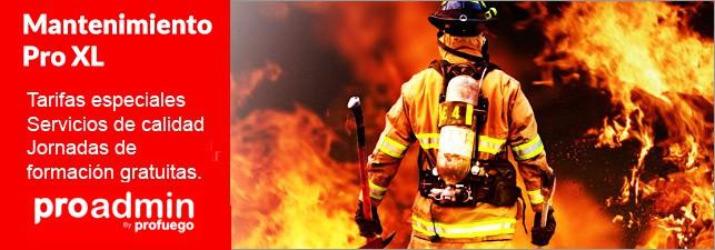 Mantenimiento extintores comunides de vecinos