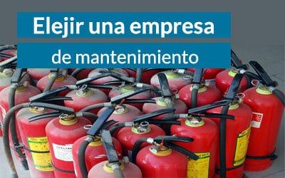 Elegir una empresa de extintores de calidad
