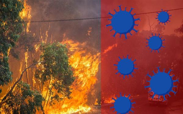 incendios en tiempos de coronavirus